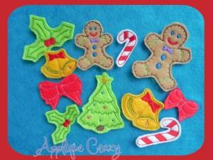Christmas feltie Design Pack