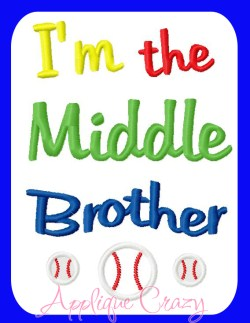 I'm the Middle brother