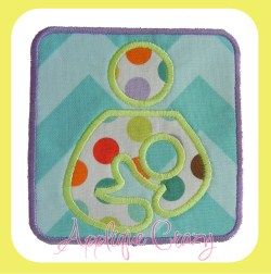Breastfeeding Symbol patch