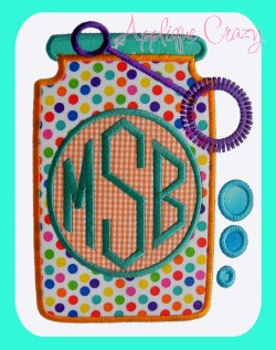 Monogram Bubbles