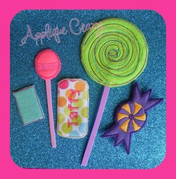 Candy Play food Set