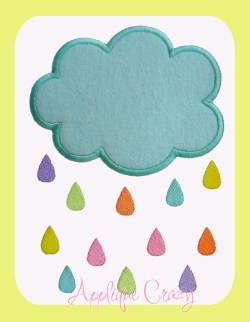 Colorful Rain Cloud