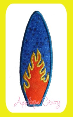 Flamin' Surf board