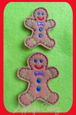 Gingerbread Man feltie