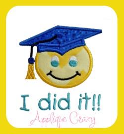 Graduation I did it
