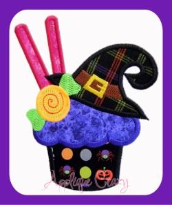 Halloween Candy Cupcake