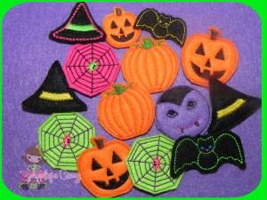 Halloween feltie Pack