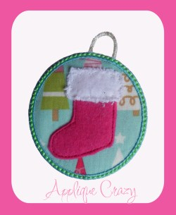 ITH Stocking Ornament