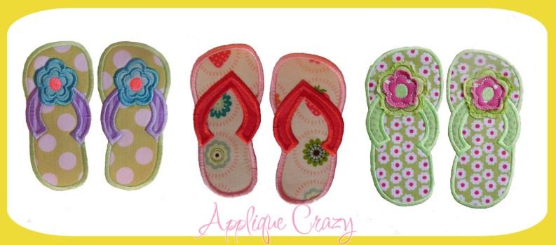 3 Styles of Flip flops