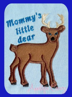 Little dear (2 designs Mommy & Granny)