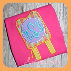 Monogram Popsicle