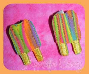 Popsicle feltie