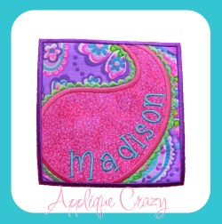 Paisley Patch