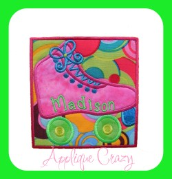 Roller Skate Patch