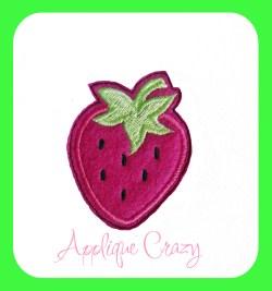 Strawberry feltie