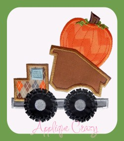 Thanksgiving pumpkin truck