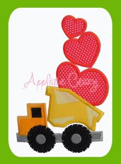 Valentine Dump Truck