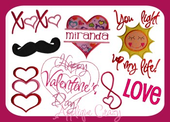 Valentine Design Pack