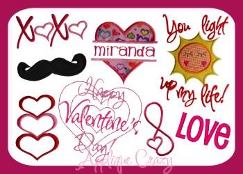 Valentine Design Pack