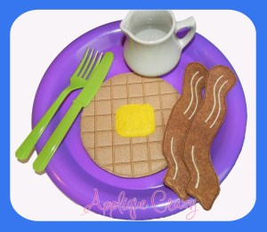 Breakfast Play Food Set